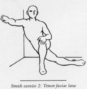 Allungamento fascia laterale